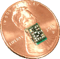 Penny compared to hearing aid chip - Hearing Aid Express
