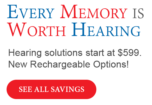 Specials Banner - Hearing Aid Express