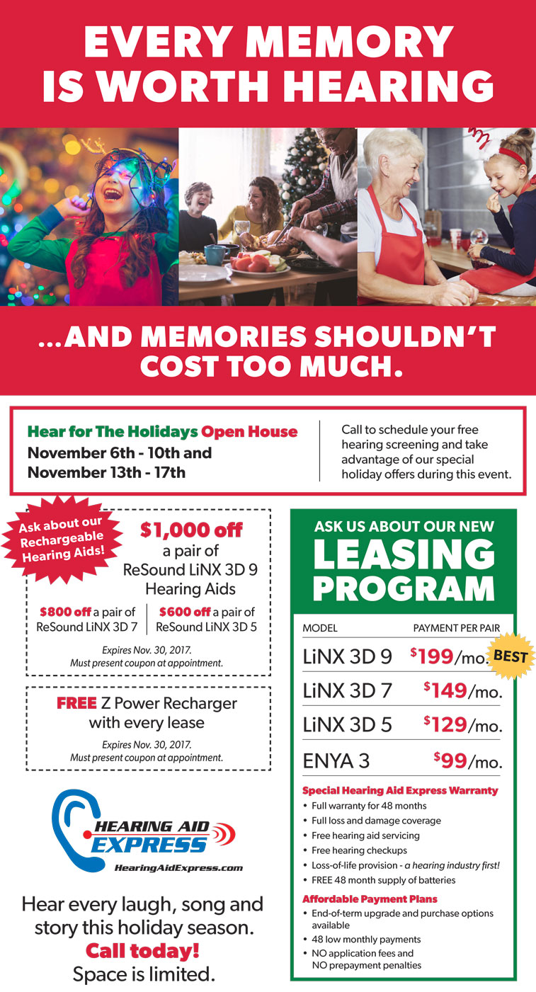 Special Open House - Hearing Aid Express