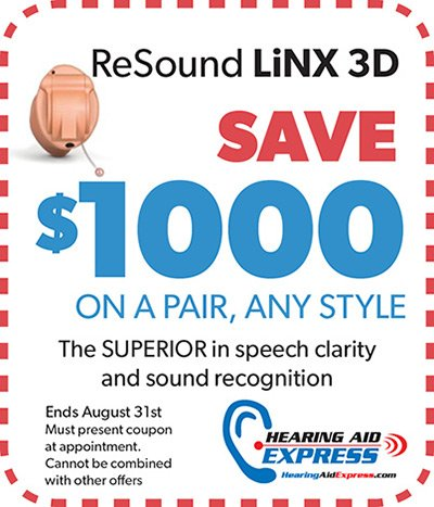 Save $1000 on a pair of ReSound LiNX 3D | Hearing Aid Express