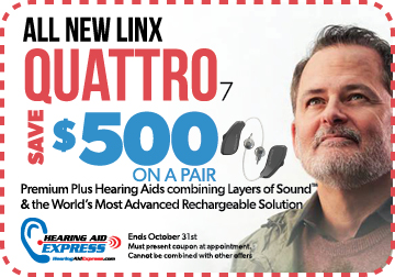 Save $500 on a pair of ReSound LiNX Quattro 7 | Hearing Aid Express