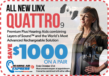 Save $1000 on a pair of ReSound LiNX Quattro 9 | Hearing Aid Express