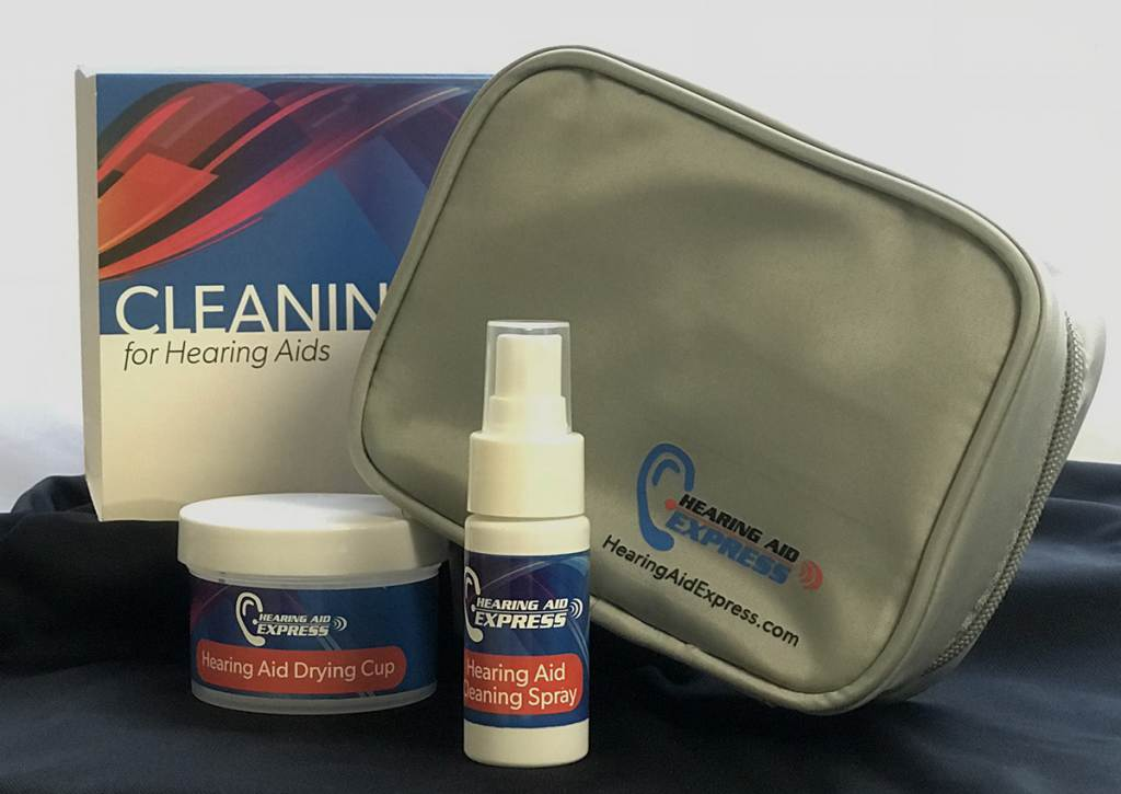 Hearing Aid Express Cleaning Kit