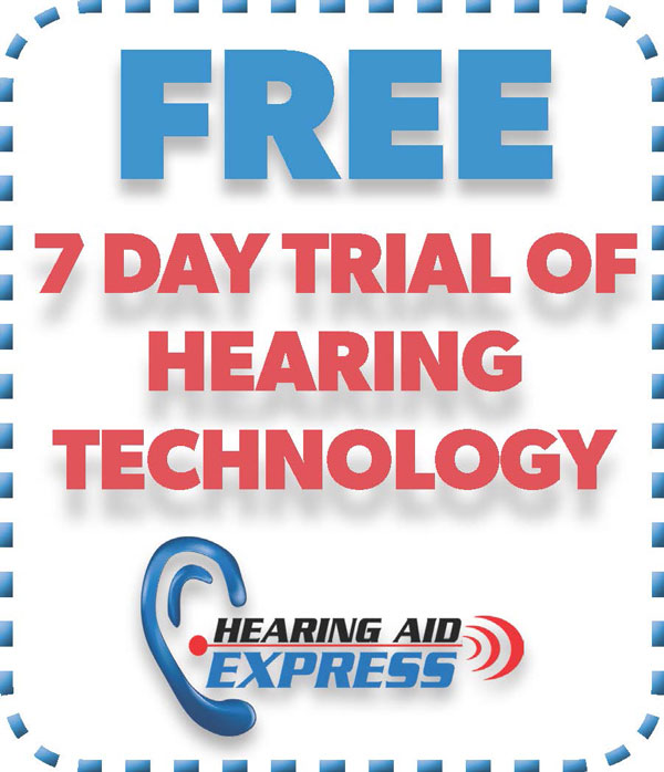 FREE 7 Day Trial of Hearing Technology | Hearing Aid Express