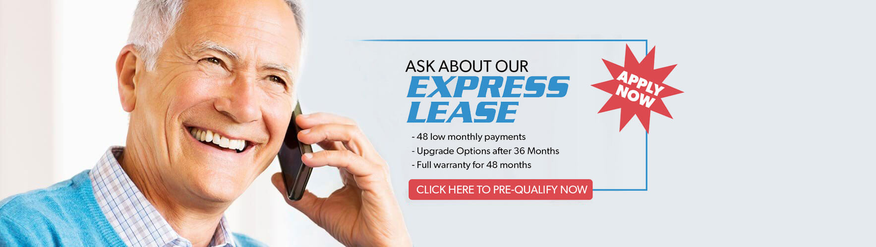 Hearing Aid Leasing Banner | Hearing Aid Express